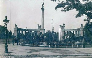 Hősök tere 1925-ben