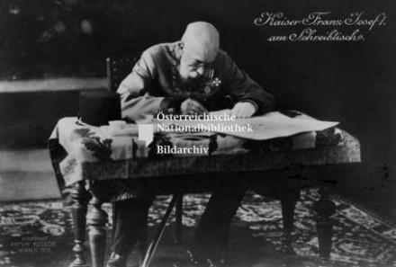 Ferenc József dolgozószobája