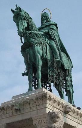 Stróbl Alajos: Szent István lovasszobra
