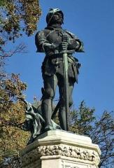 Hunyadi János szobra