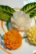 Zöldség-gyümölcs díszek