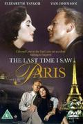 Amikor utoljára láttam Párizst (The Last Time I Saw Paris)  1954.