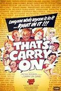 Folyton folyvást folytassa! /That's Carry On/
