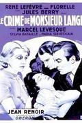 Lange úr vétke /Le crime de Monsieur Lange/ 1936.