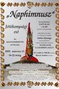 Naphimnusz - jótékonysági est