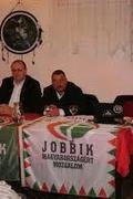 Gyöngyösi Márton és Szíjj Sándor lakossági fóruma. Tiszakécske